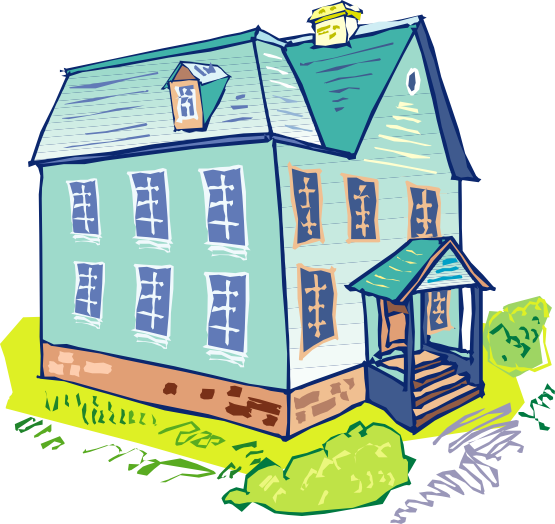 Nice home clipart