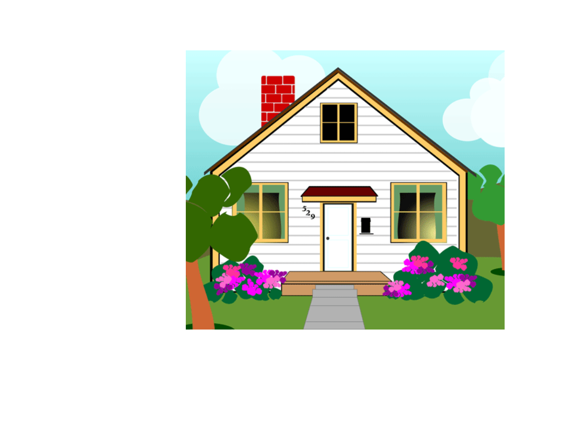 Nice house clipart graphic black and white download Lost In The Forest