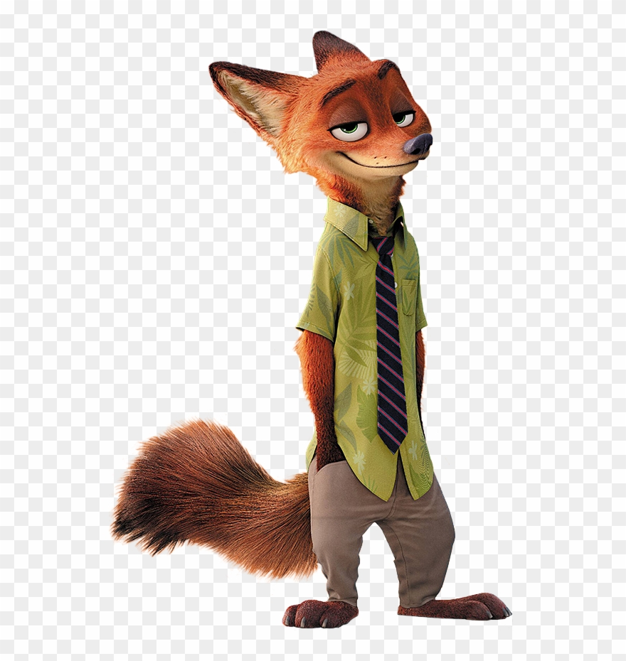 Nick wilde clipart image free library Nick Wilde - Zootopia Nick Clipart (#3613948) - PinClipart image free library