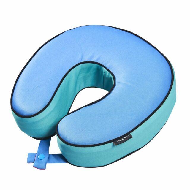 Nicole miller logo clipart jpg black and white stock Nicole Miller Embossed Memory Foam Travel Pillow Breeze Blue jpg black and white stock