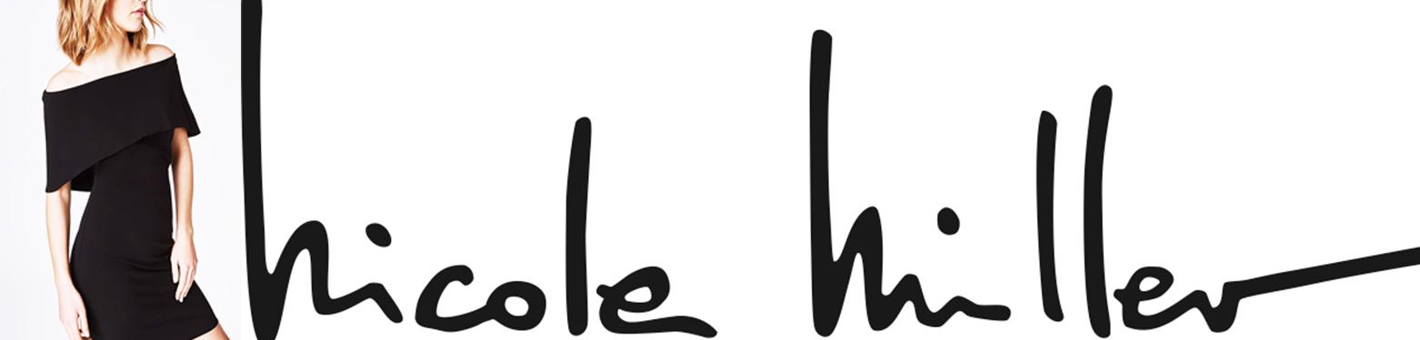 Nicole miller logo clipart clipart transparent stock Stretch Cotton Tie Waist Jumpsuit by Nicole Miller - Style Theory clipart transparent stock