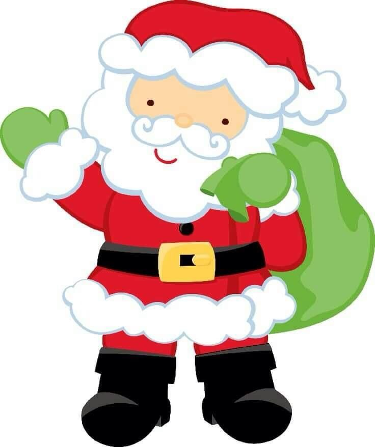 Nielsen clipart jpg transparent stock Pin by Molly Nielsen on printables | Christmas art, Santa claus ... jpg transparent stock