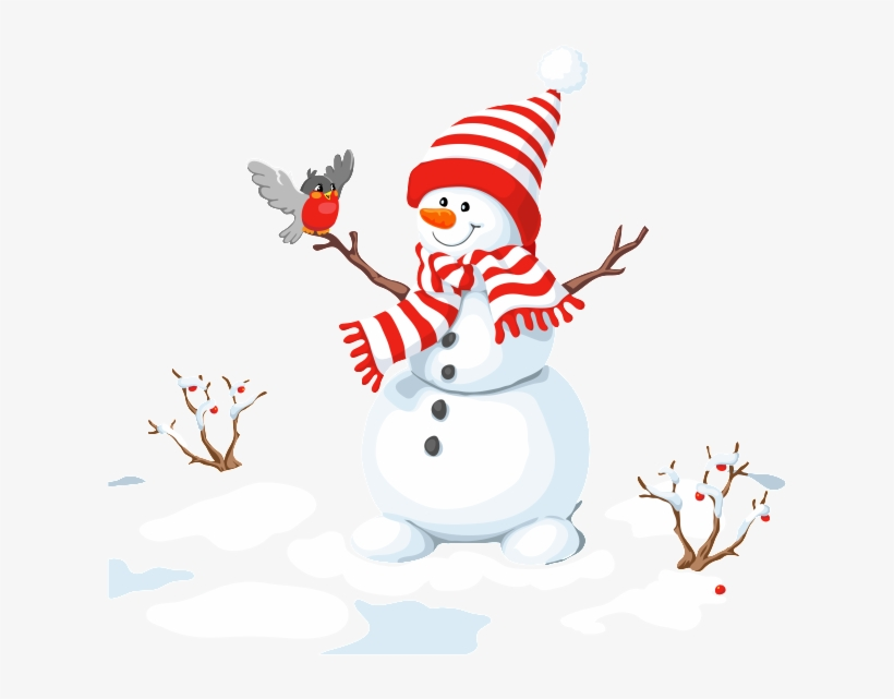 Nieve clipart graphic download Muñeco De Nieve De Invierno De Png - Il Fait Un Bonhomme De Neige ... graphic download