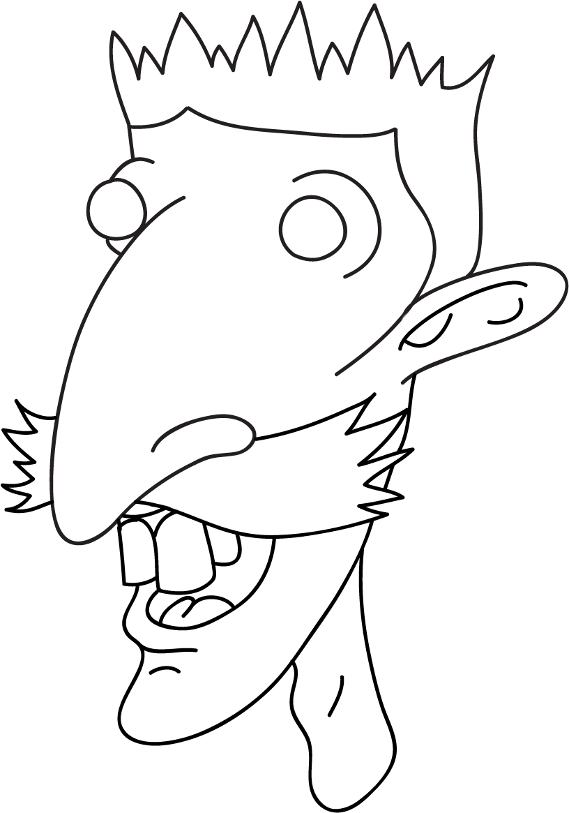 Nigel thornberry clipart jpg transparent download HD Nigel Thornberry Line Art Transparent PNG Image Download ... jpg transparent download