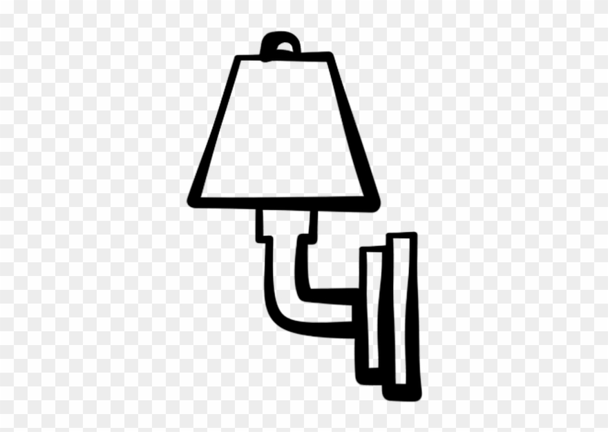 Clipart nightlight clipart black and white Wall Lamp Clipart Clipground - Night Light Clip Art - Png ... clipart black and white