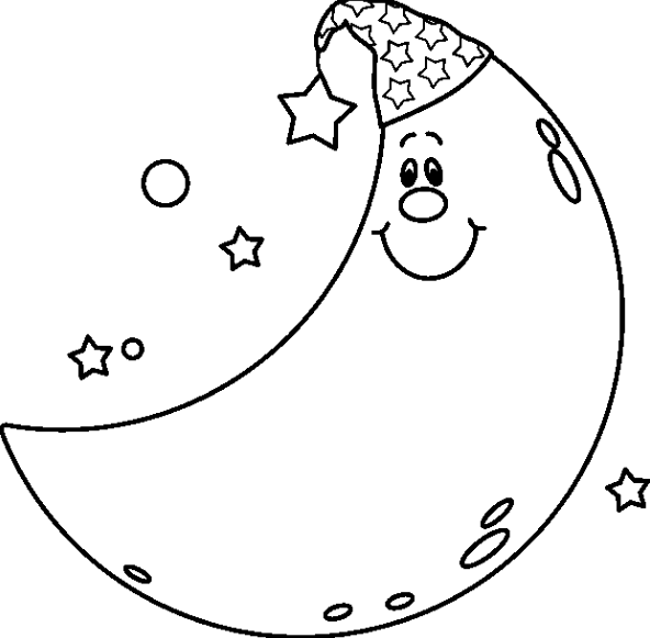 Night black and white clipart royalty free stock Night clipart black and white 5 » Clipart Station royalty free stock