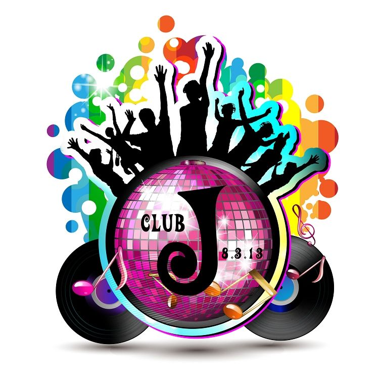 Night club party signs clipart black and white to print svg freeuse stock Disco Dance Club Theme Mitzvah Logo | ideas for b\'nai in 2019 | Bat ... svg freeuse stock