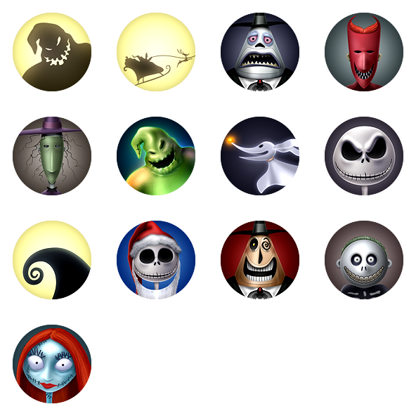 Nightmare before christmas characters clipart freeuse stock 28 Ideas Jack Nightmare Before Christmas Decorations freeuse stock