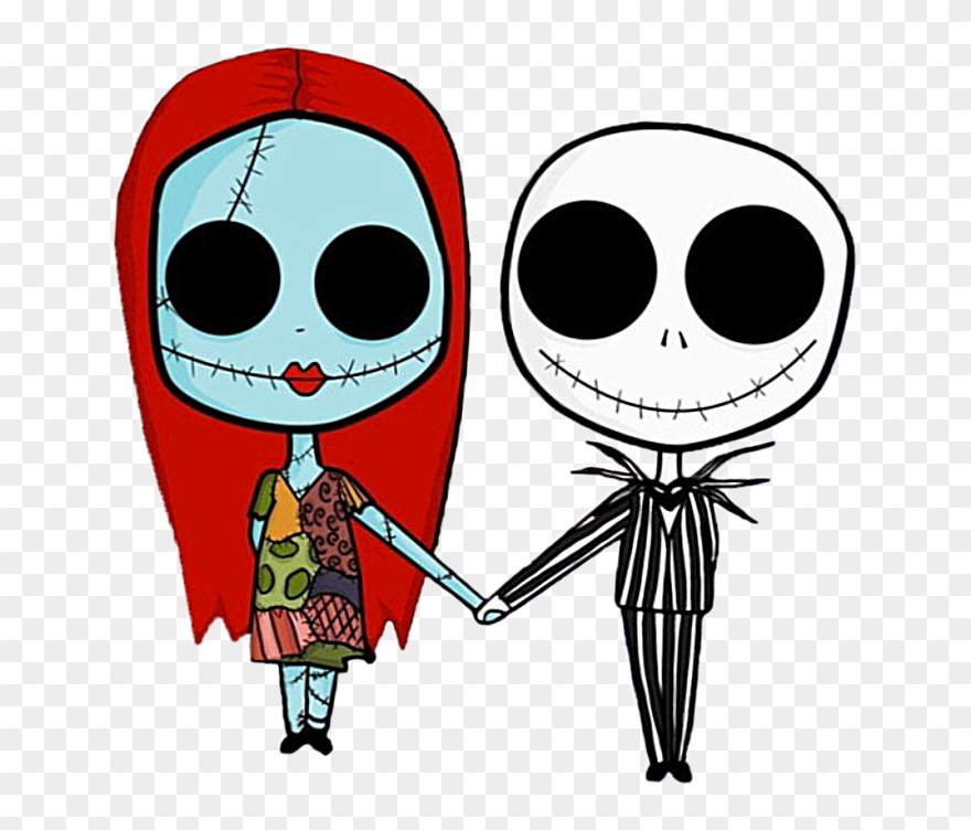 Jack and sally clipart picture Timburton Timburtonstyle - Nightmare Before Christmas Jack ... picture