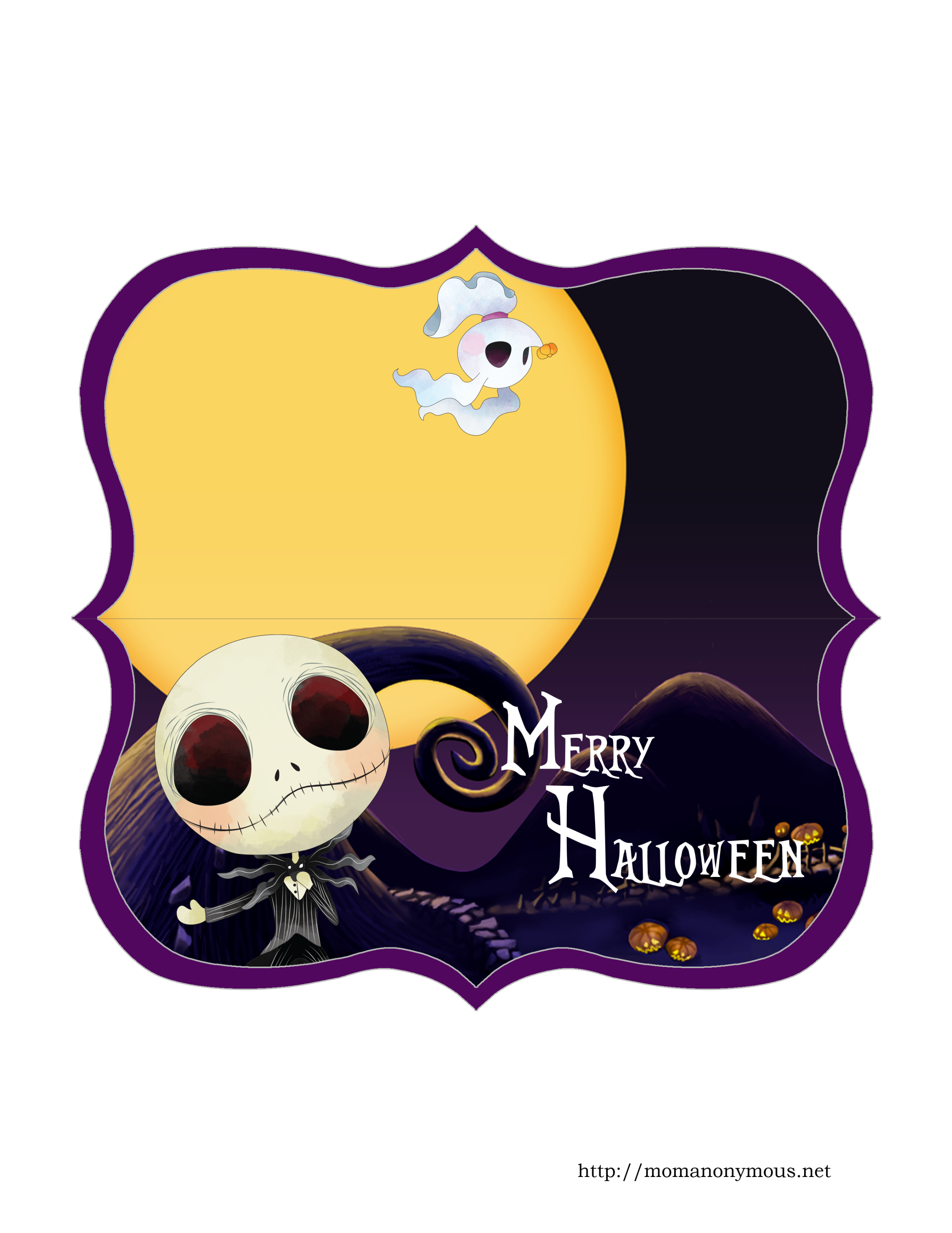 Nightmare before christmas clipart free png free library EXCLUSIVE and COMPLIMENTARY The Nightmare Before Christmas Printable ... png free library