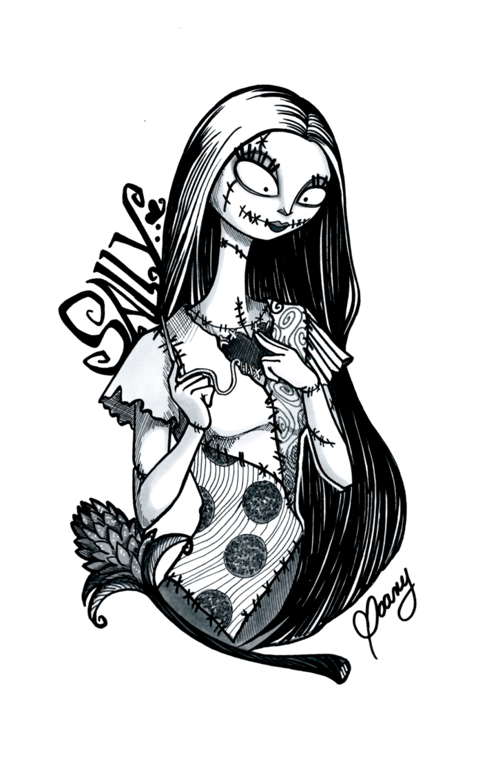 Sally nightmare before christmas clipart png free download INKTOBER 2016 Nightmare before Christmas - Sally by Weirdream13 on ... png free download