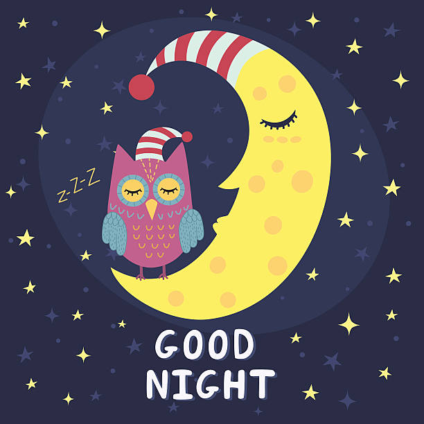 Nights clipart clip freeuse Good Night Clip Art - Royalty Free - GoGra #241262 ... clip freeuse