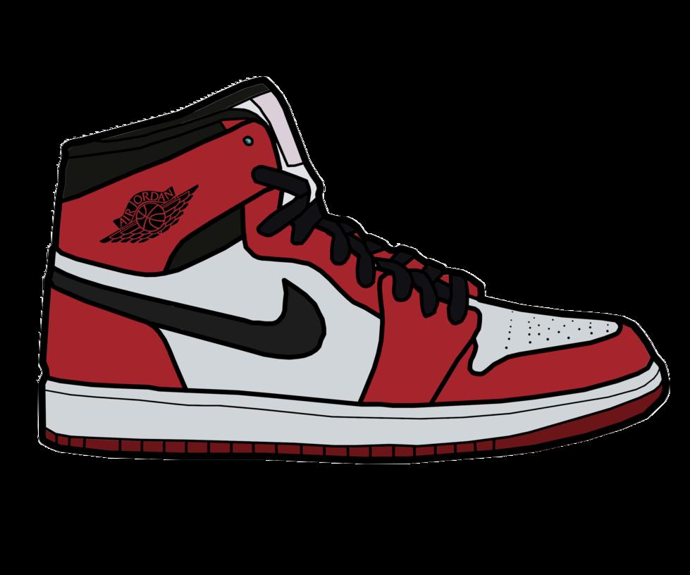 Nike air jordan clipart jpg library download Nike Air Jordan Clip Art - Free Clipart jpg library download