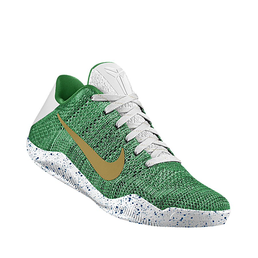Nike basketball tennis shoe clipart png freeuse library Fun With NIKEiD: Nike Kobe 11 Colorways For All 30 NBA Teams ... png freeuse library