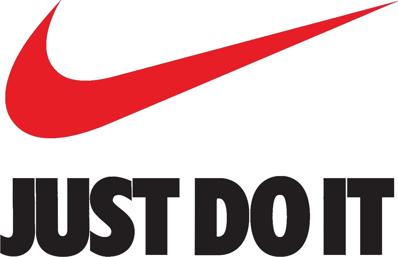 Nike clipart transparent png Just Do It Nike Swoosh Logo Brand - nike logo png download - 1348 ... png