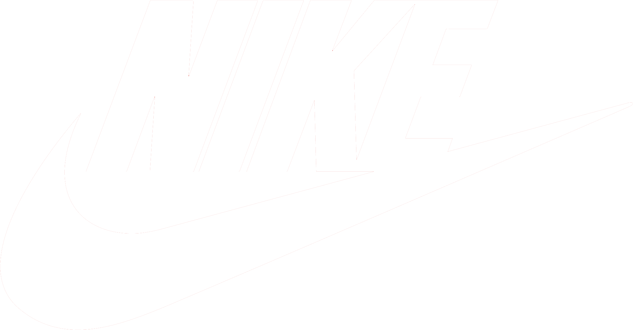 Nike logo clipart blanco vector free Nike logo PNG images free download vector free