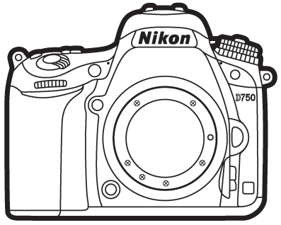 Nikon d750 clipart clipart black and white stock Nikon Camera Sketch at PaintingValley.com | Explore collection of ... clipart black and white stock