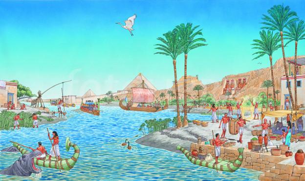 Nile river clipart free download Nile river clipart - ClipartFest free download
