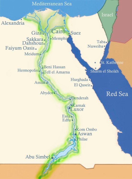 Nile river clipart free library Map of the nile river clipart - ClipartFest free library