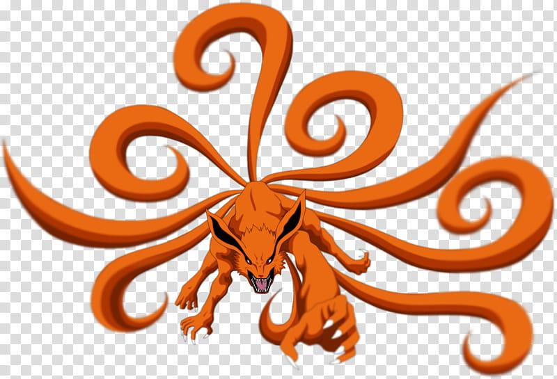Nine tailed fox clipart clip library Naruto the Nine Tail Fox, Kurama of Naruto transparent background ... clip library