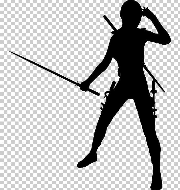 Ninja silhouette fighting clipart black and white clip black and white download Silhouette Kunoichi Ninja Girls PNG, Clipart, Angle, Arm, Black ... clip black and white download