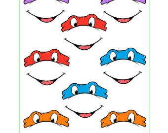Ninja turtle printable clipart clip art transparent Tmnt Outline Clipart - Clipart Kid clip art transparent