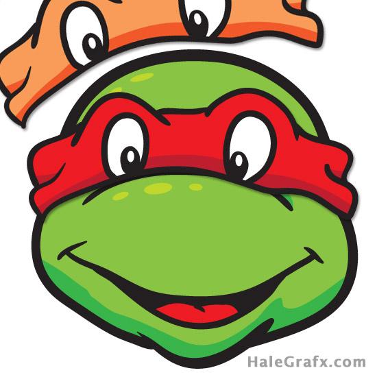 Ninja turtle printable clipart clip art transparent stock Ninja Turtle Mask Clipart - Clipart Kid clip art transparent stock
