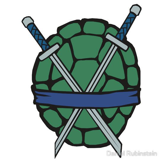 Ninja turtle shell clipart vector transparent library The Leader Edition (Alternate) | Sticker | Teenage Mutant Ninja ... vector transparent library