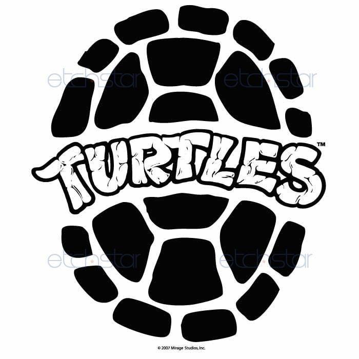 Ninja turtles silhoutte black and white clipart no background