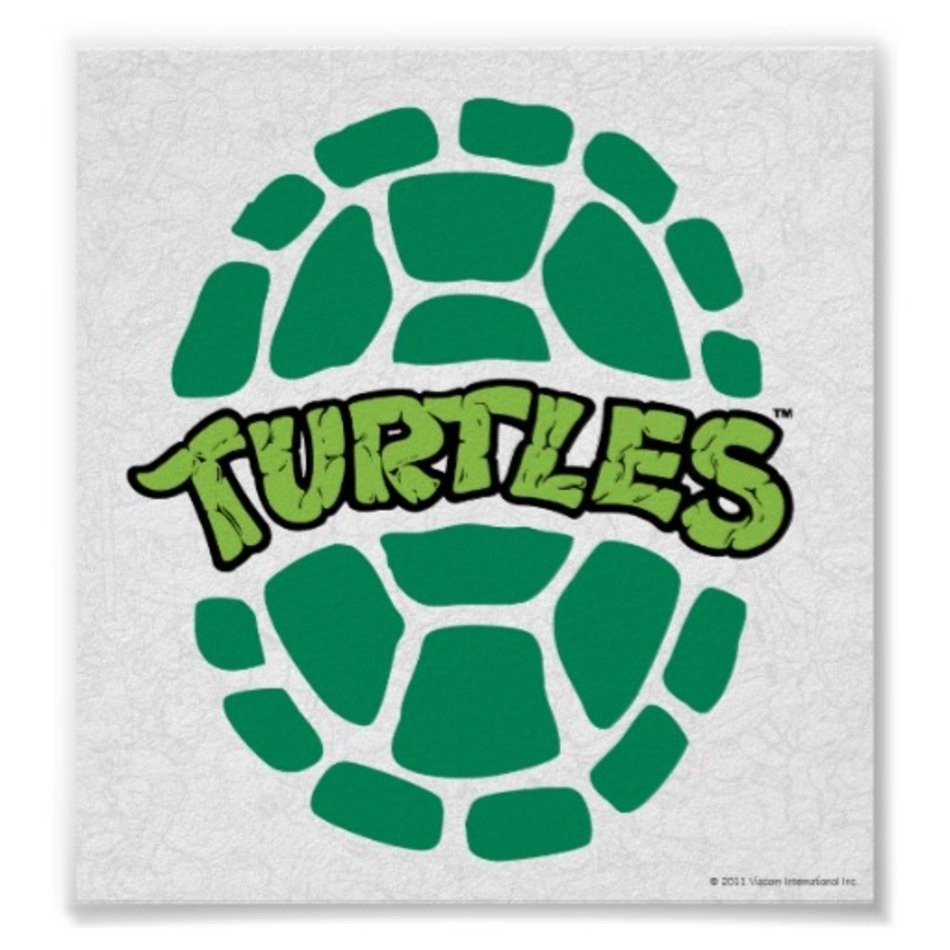 Ninja turtle shell clipart image free library Ninja Turtle Shell Logo Logotipo 2 De La free image image free library