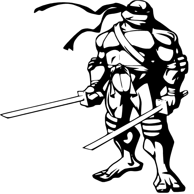 Ninja turtle weapon clipart black and white clip art free stock Turtle, Black, Art, Line, Graphics, Illustration, Product png ... clip art free stock