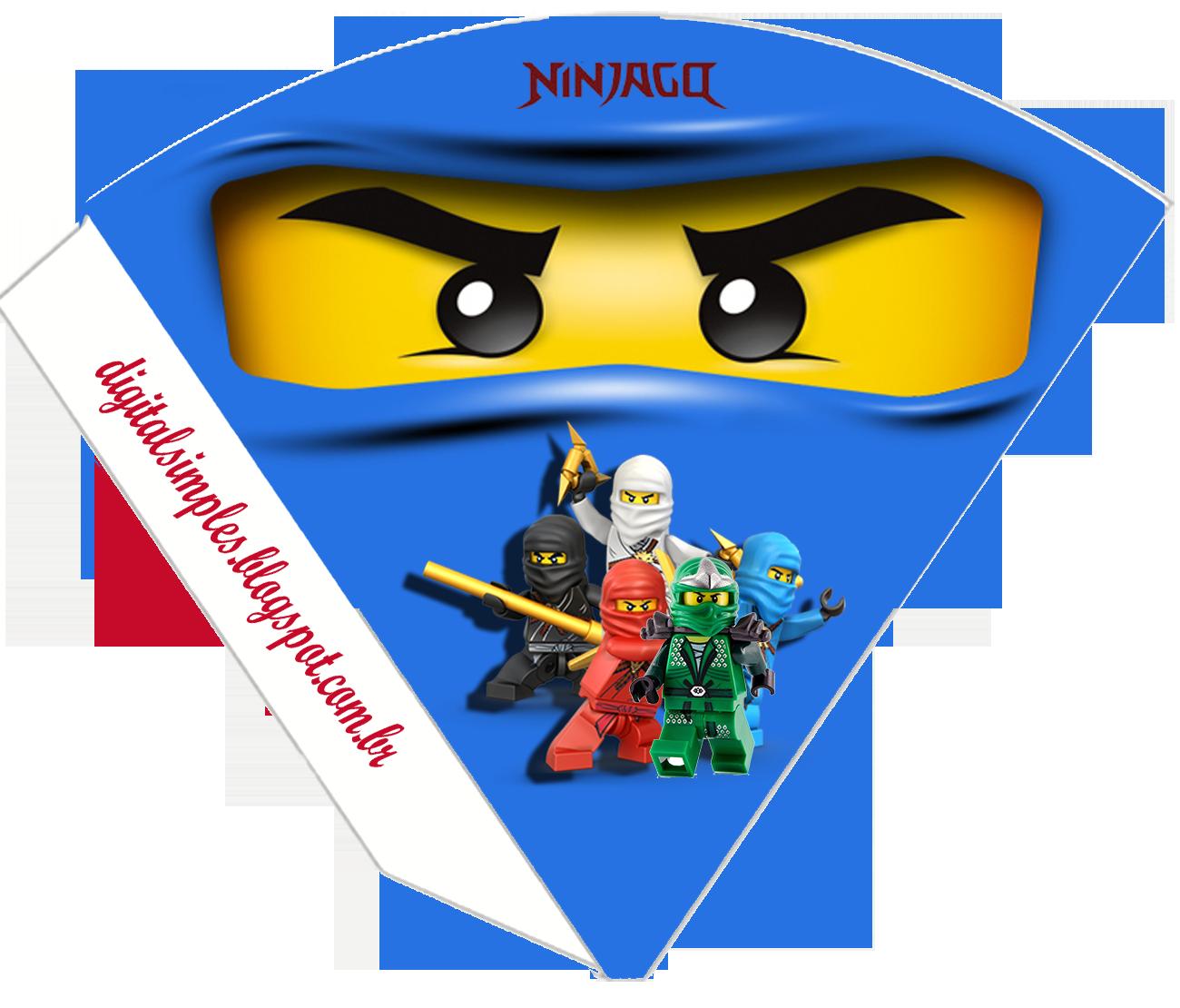 Ninjago star clipart picture freeuse library Kit Digital Aniversário