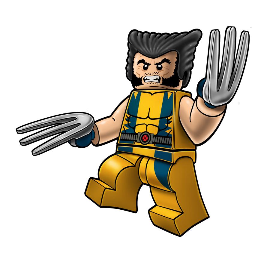 Ninjago star clipart vector library stock Wolverine Marvel Lego Clip Art Png vector library stock