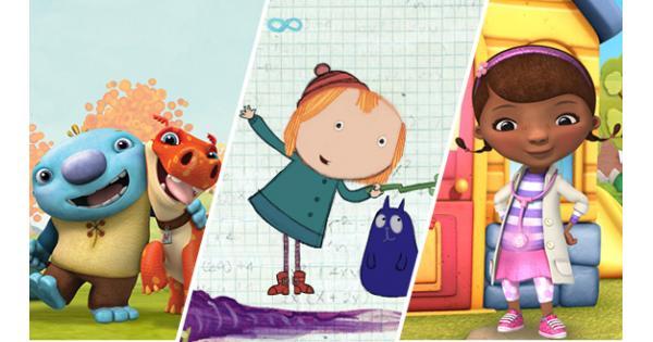 Ninos y sus familias en la clase clipart banner transparent 8 programas de TV creados por expertos en educación preescolar ... banner transparent