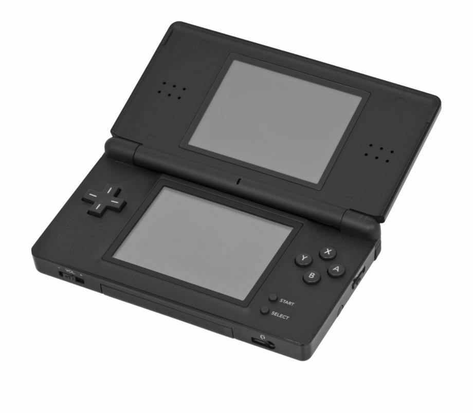 Nintendo ds lite clipart image Nintendo Ds Lite Black Open - Nintendo Ds Lite Free PNG Images ... image