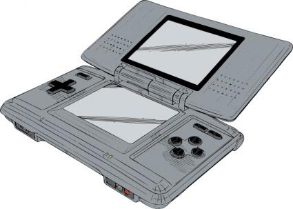 Nintendo ds lite clipart vector transparent Free download of Nintendo Ds clip art Vector Graphic - Vector.me vector transparent