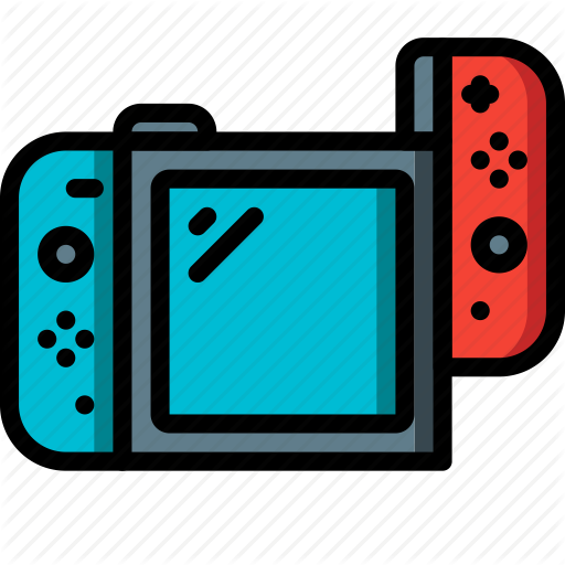 Nintendo icon clipart png black and white stock Nintendo switch background clipart images gallery for free download ... png black and white stock