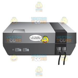 Nintendo video game consoles clipart svg free download Original Nintendo Video Game Console svg free download