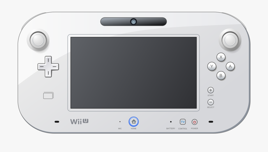 Nintendo wii clipart png download Wii U Game Pad Clipart - Nintendo Wii U Clipart #43226 ... png download