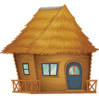 Nipa clipart graphic black and white Download Nipa Hut Free PNG, icon and clipart   FreePngClipart graphic black and white