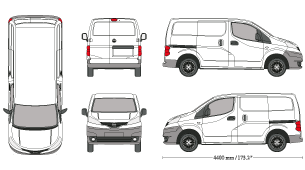 Library Of Nissan Nv 200 Graphic Png Files Clipart Art 2019