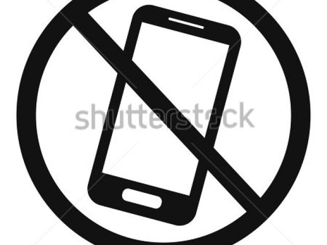 No cell phone clipart black and white vector transparent download No Cell Phone Clipart 23 - 450 X 470 - Making-The-Web.com vector transparent download
