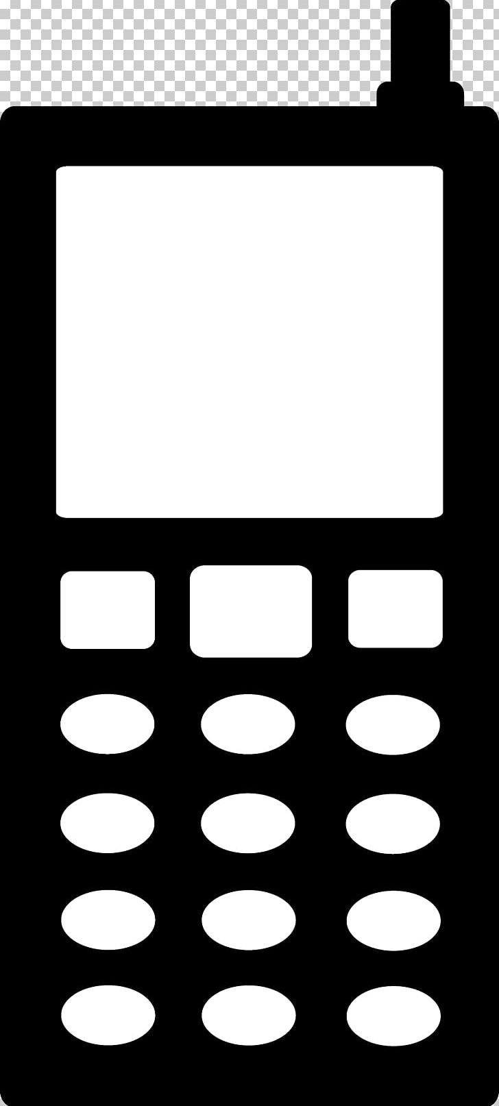 No cell phone clipart black and white free stock Telephone Silhouette PNG, Clipart, Area, Black, Black And ... free stock