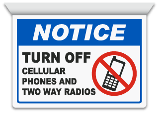 No cell phone in the doctor s office clipart image royalty free library No Cell Phone Signs, Cell Phone Signs, Turn Off Cell Phone Signs image royalty free library
