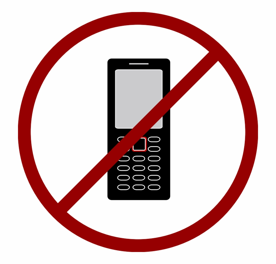No cell phones clipart picture royalty free stock Jpg Black And White No Cell Phone Clip Art By Solvera - No ... picture royalty free stock
