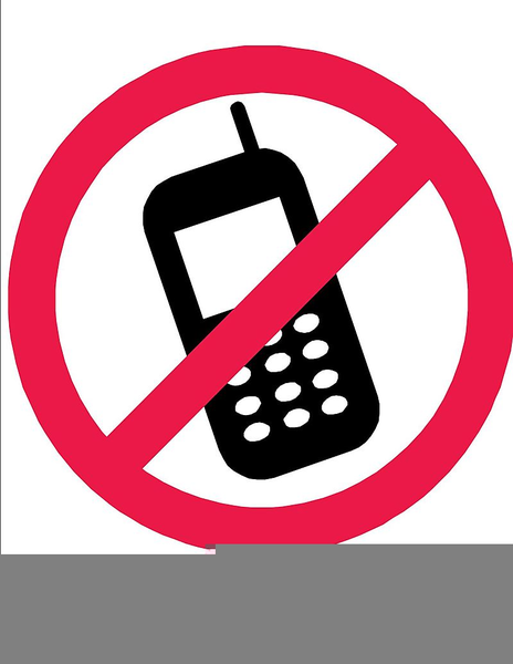 No cell phones clipart image freeuse download Free No Cell Phones Clipart Images At Clker Com Vector Clip ... image freeuse download