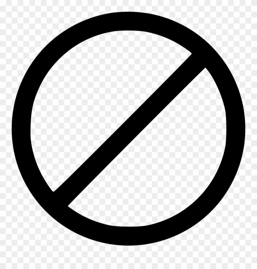 No clipart black and white picture transparent stock No Symbol Black Transparent Clipart (#2067059) - PinClipart picture transparent stock