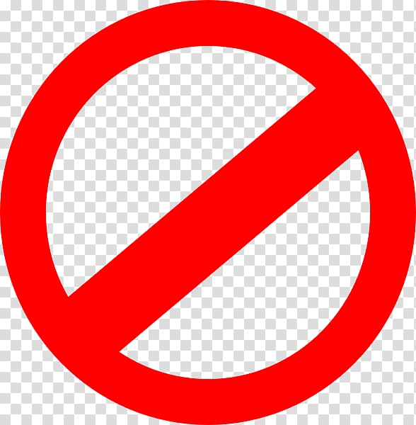 No clipart transparent png transparent stock No symbol Sign , prohibited signs, no to signage transparent ... png transparent stock