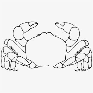 No copyright crab clipart black and white graphic free White Clipart Crab Ocean Animal Pictures Www Picturesboss ... graphic free
