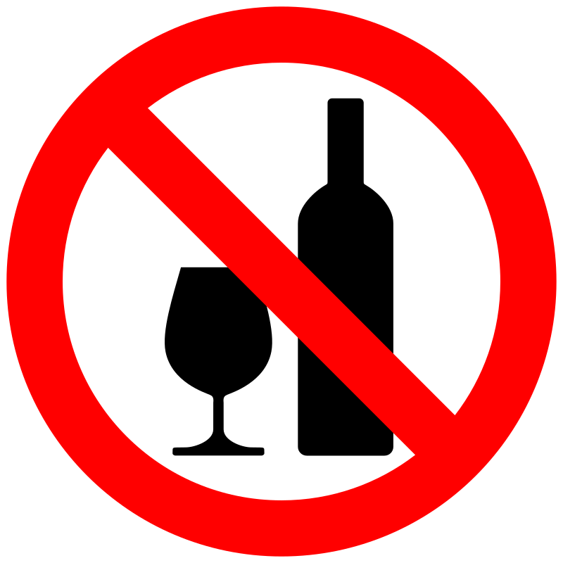 No drinking clipart image freeuse no alcohol | Clipart - Don\'t drink alcohol - No tomar ... image freeuse